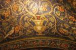 Il mosaico sovrastante la tomba di Santa Matrona