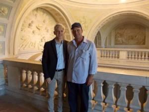 Con Tommaso Cestrone a Carditello