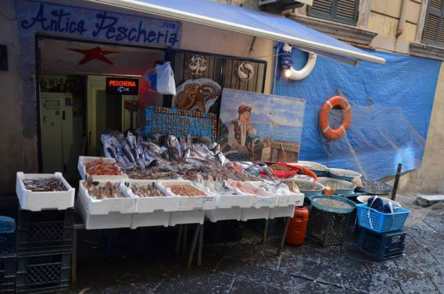 A beautiful fishmonger's shop