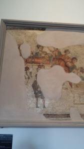 Mosaico proveniente dal tempio di Diana Tifatina
