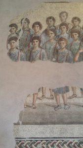 Mosaico del coro sacro