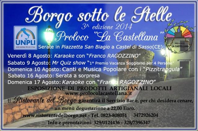 Castel di Sasso_Borgo_sotto_le_stelle