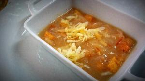 Zuppa con cipolla D'Alife